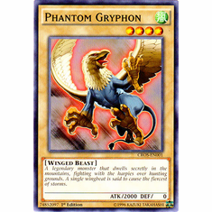 Phantom Gryphon CROS-EN001 Common - YuGiOh Crossed Souls Card
