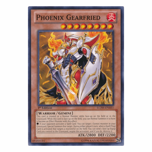 Phoenix Gearfried LCJW-EN051 - YuGiOh Joey's World Common Card