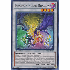 Phonon Pulse Dragon PRIO-EN055 - YuGiOh Primal Origin Rare Card