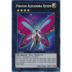 Photon Alexandra Queen NUMH-EN047 - YuGiOh Number Hunters Secret Rare