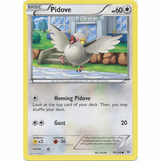 Pidove 78/108 Common - Pokemon XY Roaring Skies Card