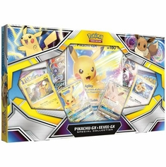 Pikachu GX & Eevee GX Special Collection Box (Pokemon) Pokemon Sealed Product