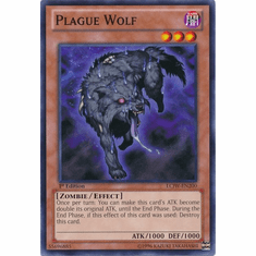Plague Wolf LCJW-EN200 - YuGiOh Joey's World Common Card