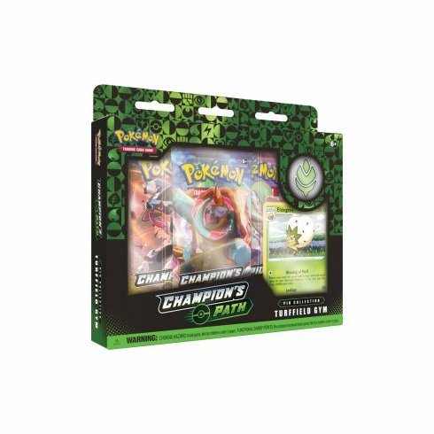Pokémon Champion's Path Turffield Hulbury Motostoke Gyms Pin Collection