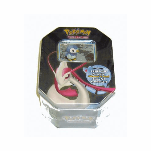 Pokemon 2007 Piplup Deluxe Collectors Tin