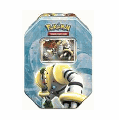 Pokemon 2008 Holiday Collector Series 2 Level-Up Regigigas Tin