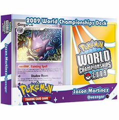 Pokemon 2009 World Championship Deck - Jason Martinez Queengar