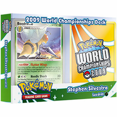 Pokemon 2009 World Championship Deck - Stephen Silvestro Luxdrill