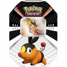Pokemon 2011 Trading Card Game Black & White Spring Sneak Peek Tepig Collector Tin