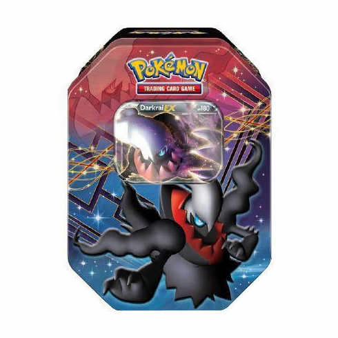 Pokemon 2012 Darkrai-EX Fall Legends Legendary Collector's Tin