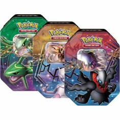 Pokemon 2012 Fall Legends Legendary EX Tin Set (3 Pokemon Tins)