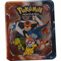 Pokemon Advanced 2005 Collectors Box Tin - Ash Ketchum