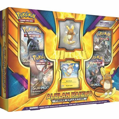 Pokemon Alolan Raichu Figure Collection Box