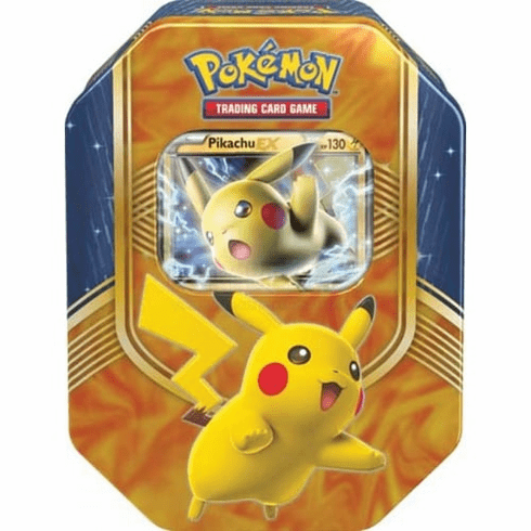 Pokemon Battle Heart Pikachu EX Tin