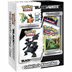 Pokemon Black & White Card Game Mini Collector's Album Box