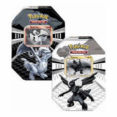 Pokemon Black & White Card Game Set of Both Legends Tins [Zekrom & Reshiram]