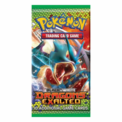 Pokemon Black & White Dragons Exalted Booster Pack