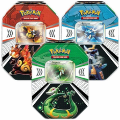 Pokemon Black & White Evolved Battle Action Fall 2011 Tin Set