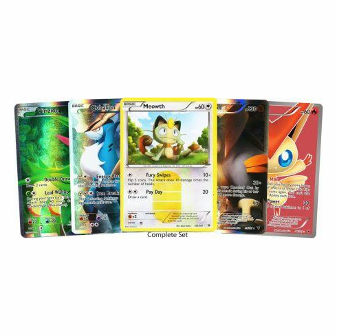 Pokemon Black & White Noble Victories Complete Card Set [101 Cards]
