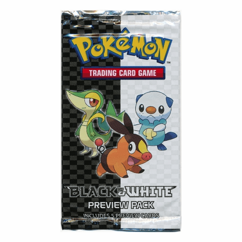Pokemon Black & White Preview Booster Pack