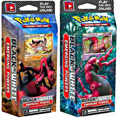 Pokemon Black & White Series 2 Set - Emerging Powers Theme Decks