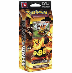 Pokemon Black & White Theme Deck Red Frenzy Emboar
