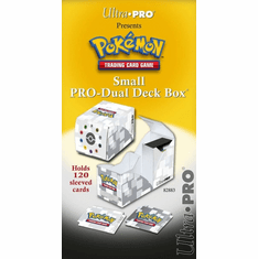 Pokemon Black & White Ultra Pro Dual Deck Box