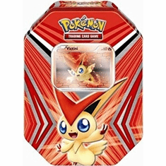 Pokemon Black & White Victini Tin - Pokemon Cards
