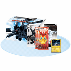 Pokemon Black & White Zekrom Trunk Card Box - Japanese