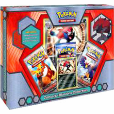Pokemon Black & White Zoroark Illusions Collection Box