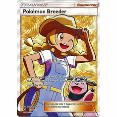 Pokemon Breeder - 73/73 - Full Art