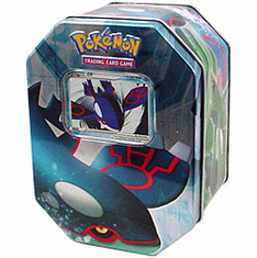 Pokemon Card Game 2006 Kyogre EX Collectible Tin