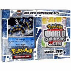 "Pokemon Card Game 2010 World Championship Deck Mychael Bryan's ""Happy Luck"""
