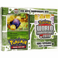 "Pokemon Card Game 2010 World Championship Deck Yuka Furusawa's ""Power Cottonweed"""
