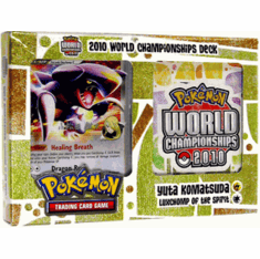"Pokemon Card Game 2010 World Championship Deck Yuta Komatsuda's ""Luxchomp of the Spirit"""