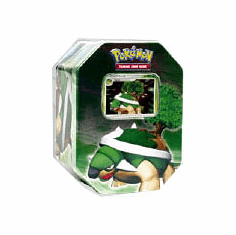 Pokemon Card Game Diamond & Pearl 2007 Holiday Torterra Tin