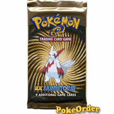 Pokemon Card Game EX Sandstorm Booster Pack