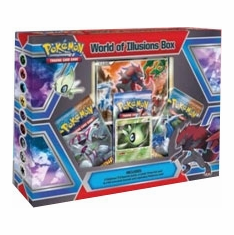 Pokemon Card Game World of Illusions Special Edition Box