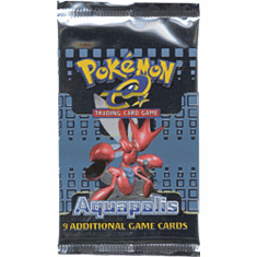 Pokemon Cards Aquapolis Booster Pack