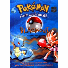 Pokemon Cards Basic 'Blackout' Theme Deck