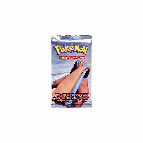 Pokemon Cards Deoxys Booster Pack