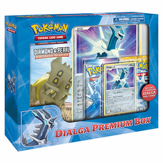 Pokemon Cards Diamond & Pearl Dialga Premium Box