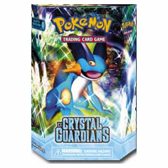 Pokemon Cards EX Crystal Guardians Earth Shower Deck
