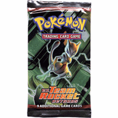 Pokemon Cards EX Team Rocket Returns Booster Pack
