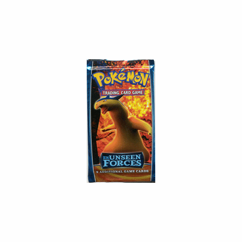 Pokemon Cards Ex Unseen Forces - Booster Pack