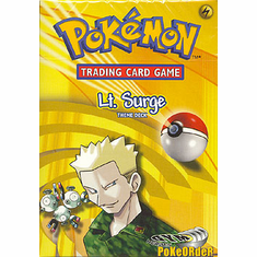 Pokemon Cards Gym Heroes 'Lt. Surge' Deck