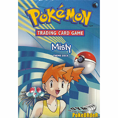 Pokemon Cards Gym Heroes 'Misty' Deck