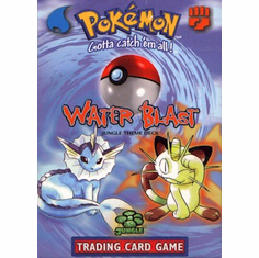 Pokemon Cards Jungle 'Water Blast' Theme Deck