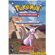 Pokemon Cards Neo Discovery 'Brain Wave' Deck