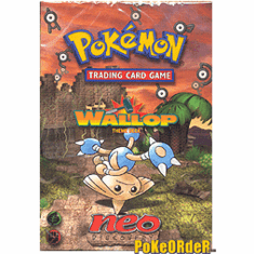 Pokemon Cards Neo Discovery 'Wallop' Deck